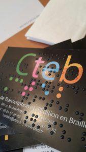 La Technique Utilisee Pour Obtenir Le Braille Consiste A Imprimer Vos Cartes Avec Du Vernis UV 3D Transparent Ou En Couleur Relief Obtenu Les