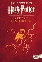 """Couverture du livre """"Harry Potter à l'école des sorciers"""" de J. K. Rowling"""