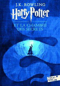 """Couverture du livre """"Harry Potter et la chambre des secrets"""" de J. K. Rowling"""
