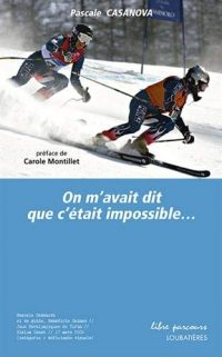 """Couverture du livre """"On m'avait dit que c'était impossible"""""""