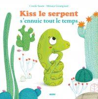 Couverture Kiss le serpent