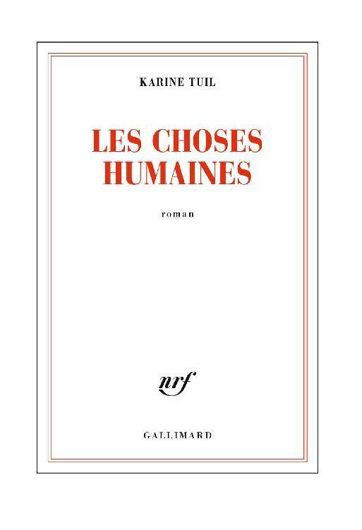 """Aller sur la page du livre """"Les choses humaines"""""""