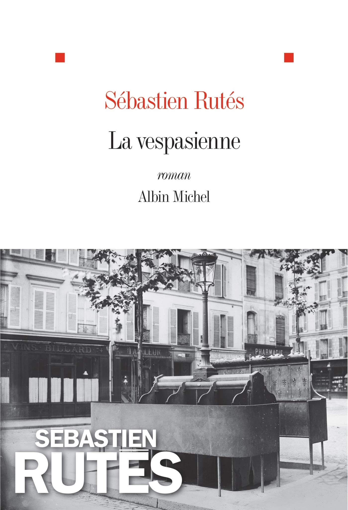 Couverture du livre La Vespasienne