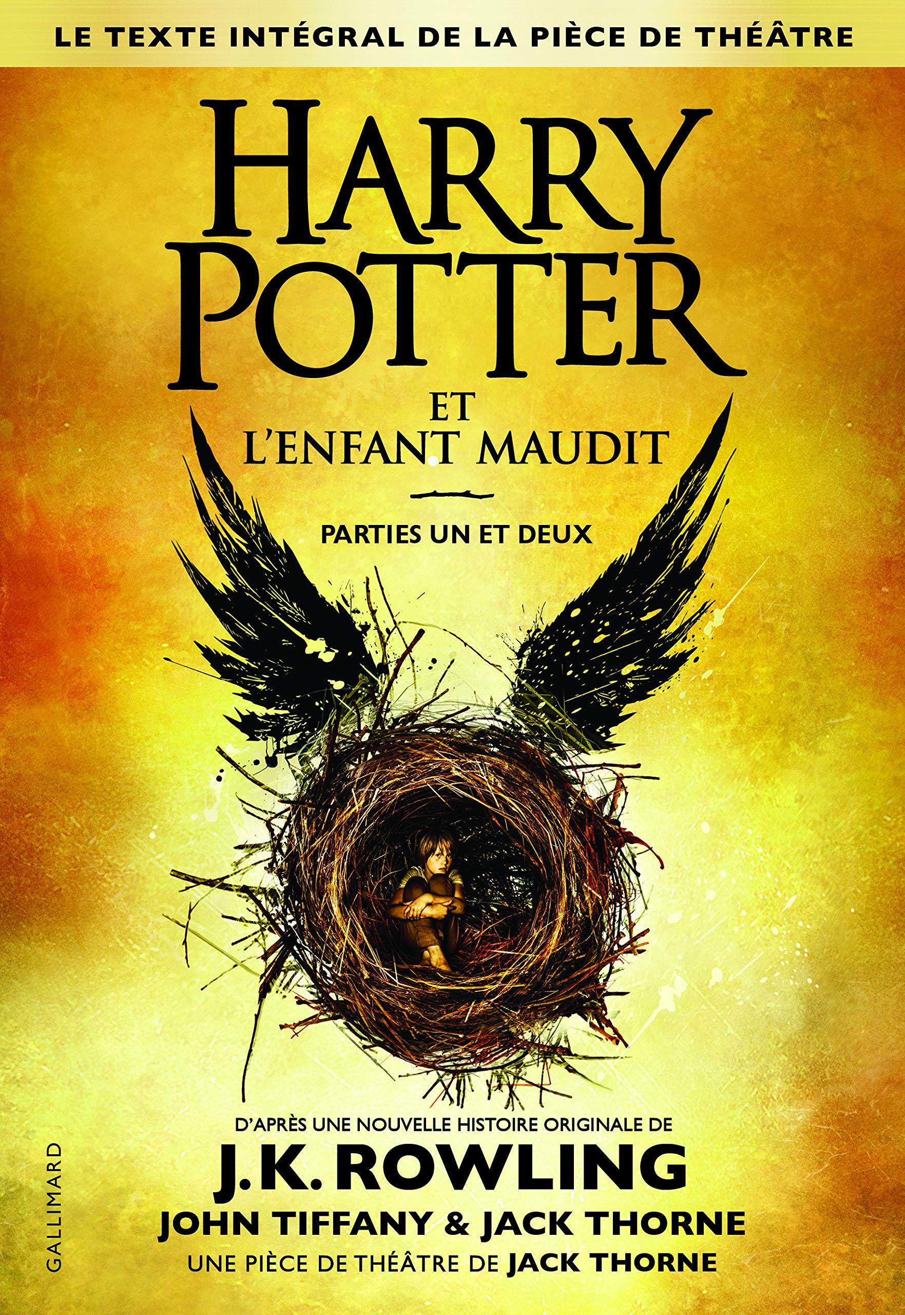 """couverture du livre """"Harry Potter et l'enfant maudit"""""""