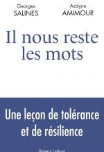 """Couverture du livre """"Il nous reste les mots"""" de Georges Salines et Azdyne Amimour"""