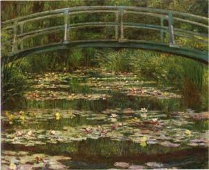 Tableau le bassin aux nymphéas 1899