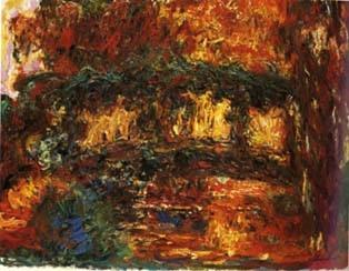 Tableau Le bassin aux Nymphéas 1923