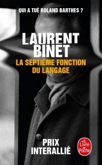 """Couverture du livre """"La septième fonction du langage"""""""