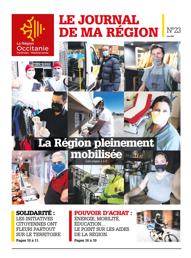 couverture du journal N°23 de la région