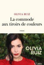 """Couverture du livre """"La commode aux tiroirs de couleurs"""" d'Olivia Ruiz"""