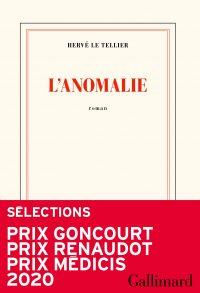 """Couverture du livre """"L'anomalie"""" de Hervé Le Tellier"""