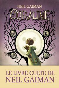 """Couverture du livre """"Coraline"""" de Neil Gaiman"""