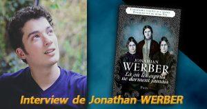 Portrait de Jonathan Werber et couverture de son livre