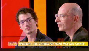 Jonathan et bernard Werber sur plateau TV
