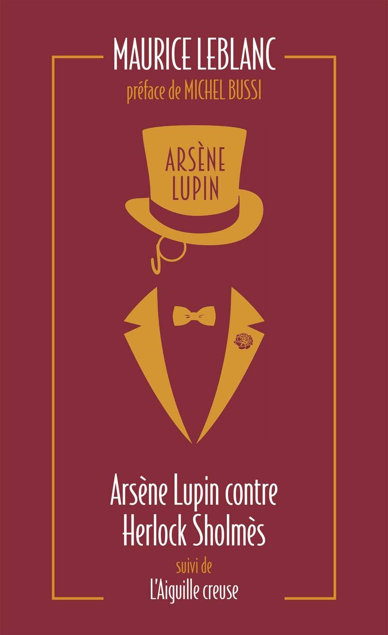 Couverture Tome 2 Arsène Lupin. Cliquez dessus pour commander le livre.