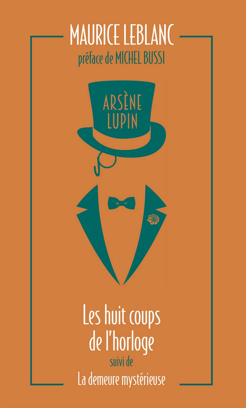 Couverture Tome 6 Arsène Lupin.