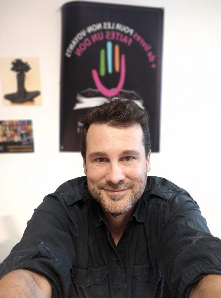 Portrait photo de Denis Guérin