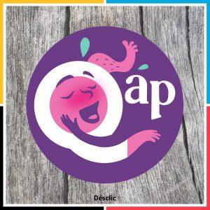 Le logo du jeu Qap